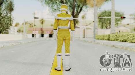 Power Rangers In Space - Yellow para GTA San Andreas tercera pantalla