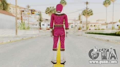 Power Ranger Zeo - Pink para GTA San Andreas tercera pantalla
