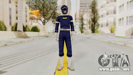 Power Rangers Turbo - Blue para GTA San Andreas segunda pantalla