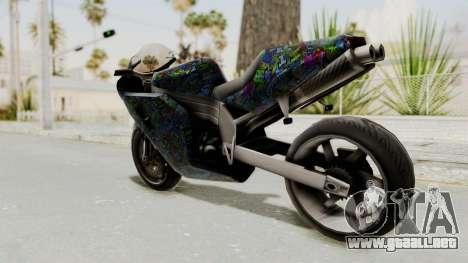 FCR-900 Stunt para GTA San Andreas left