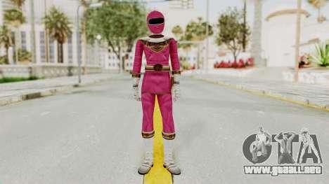 Power Ranger Zeo - Pink para GTA San Andreas segunda pantalla