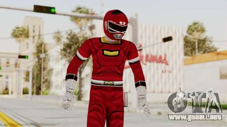 Power Rangers Turbo - Red para GTA San Andreas