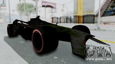 Bad to the Blade from Hot Wheels para la visión correcta GTA San Andreas