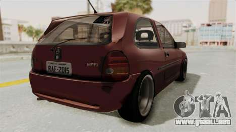 Chevrolet Corsa Hatchback Tuning v1 para la visión correcta GTA San Andreas