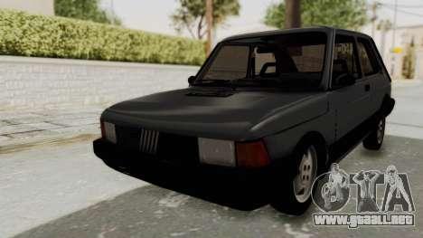 Fiat 147 Spazio TR para GTA San Andreas