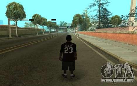 Grove Gang Skin para GTA San Andreas segunda pantalla