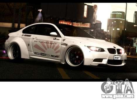BMW M3 E92 Libertad Pie LB Rendimiento para GTA San Andreas