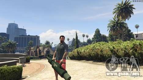 GTA 5 Weapon Variety 0.9 octavo captura de pantalla