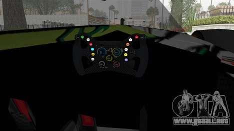 Bad to the Blade from Hot Wheels para visión interna GTA San Andreas