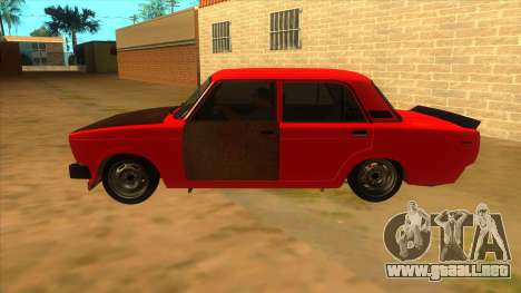 VAZ 2105 de Combate Clásicos para GTA San Andreas left