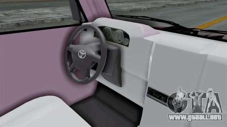 Toyota Kijang Grand Nico.Y Itasha para visión interna GTA San Andreas