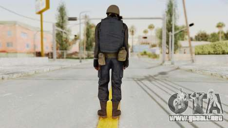 MGSV Phantom Pain RC Soldier Vest v2 para GTA San Andreas tercera pantalla