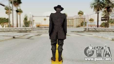 MGSV Phantom Pain SKULLFACE No Mask para GTA San Andreas tercera pantalla