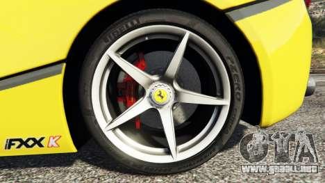 GTA 5 Ferrari LaFerrari delantero derecho vista lateral