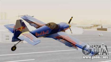 Zlin Z-50 LS Redbull para GTA San Andreas left