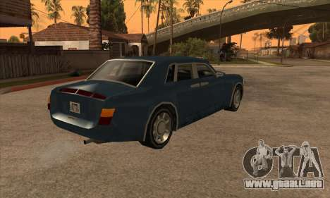 Rolls Royce Phantom para GTA San Andreas left