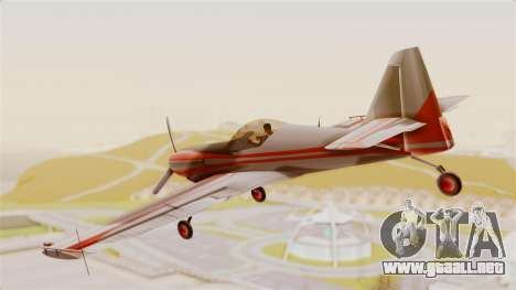 Zlin Z-50 LS Classic para GTA San Andreas left