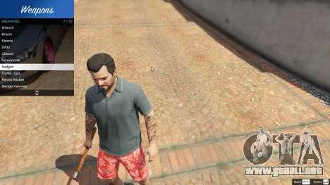 GTA 5 Weapon Variety 0.9 segunda captura de pantalla