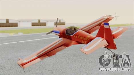Zlin Z-50 LS v3 para GTA San Andreas left
