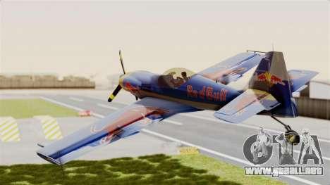 Zlin Z-50 LS Redbull para la visión correcta GTA San Andreas