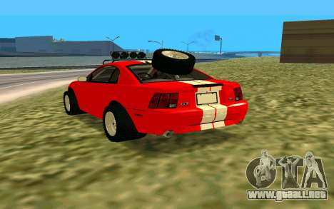 Ford Mustang 1999 para GTA San Andreas left