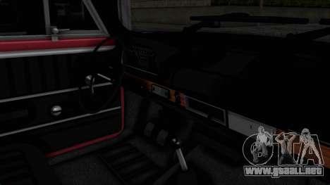 Tofas Murat 124 para visión interna GTA San Andreas