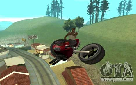 FCR HF para GTA San Andreas left