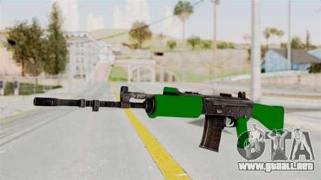 IOFB INSAS Dark Green para GTA San Andreas