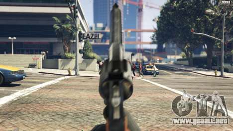 GTA 5 Python .357 Magnum CT6 sexta captura de pantalla