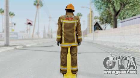 GTA 5 Fireman LS para GTA San Andreas tercera pantalla