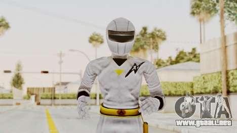 Alien Rangers - White para GTA San Andreas