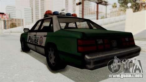 GTA VC Police Car para la visión correcta GTA San Andreas