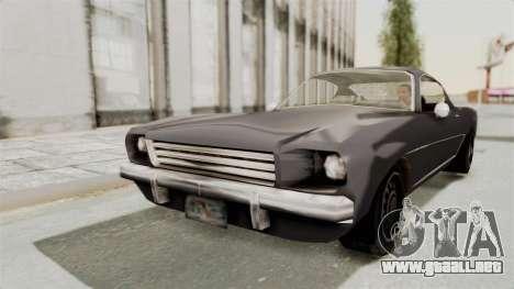 Dominator Classic para GTA San Andreas