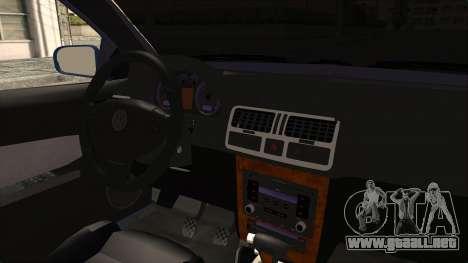 Volkswagen Bora 1.8T para visión interna GTA San Andreas