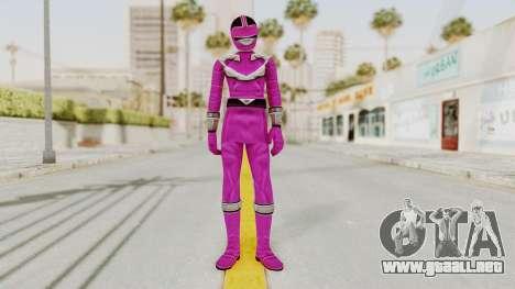 Power Rangers Time Force - Pink para GTA San Andreas segunda pantalla
