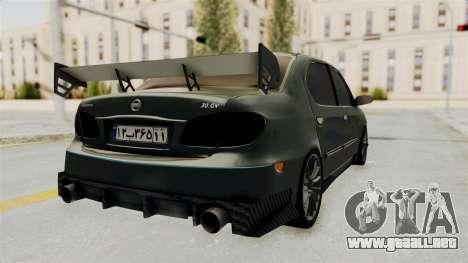 Nissan Maxima Tuning v1.0 para GTA San Andreas vista posterior izquierda