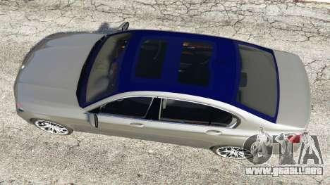 BMW 750Li xDrive (G12) 2016 para GTA 5