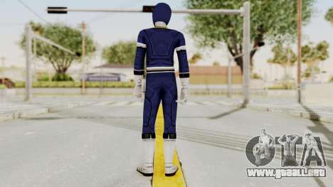 Power Rangers Turbo - Blue para GTA San Andreas tercera pantalla