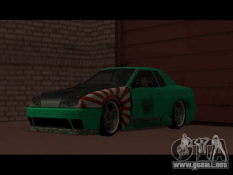Elegy Paintjob JDM para la visión correcta GTA San Andreas