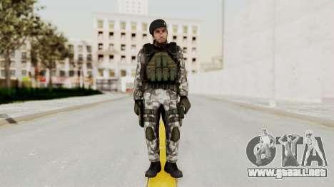 Black Mesa - HECU Marine Beret para GTA San Andreas segunda pantalla