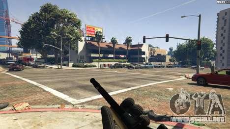 GTA 5 Steyr AUG A1 cuarto captura de pantalla