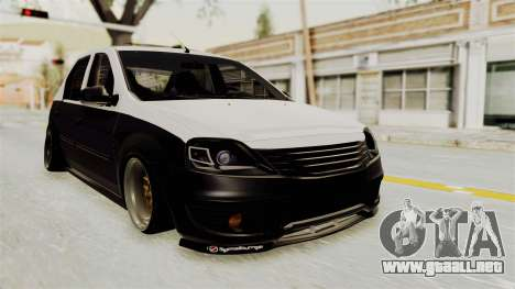 Dacia Logan Facelift Stance para GTA San Andreas