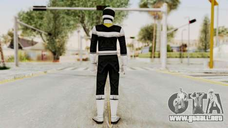 Power Rangers In Space - Black para GTA San Andreas tercera pantalla