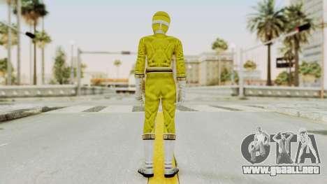 Power Rangers Lightspeed Rescue - Yellow para GTA San Andreas tercera pantalla