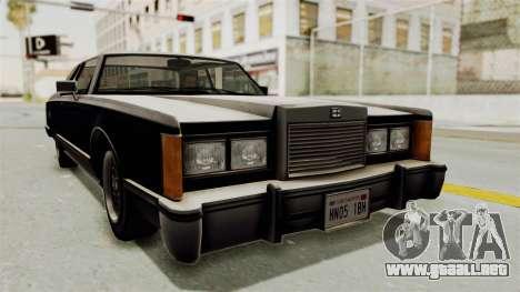 GTA 5 Dundreary Virgo SA Lights para GTA San Andreas
