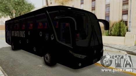Marcopolo JDT Batu Bus para la visión correcta GTA San Andreas