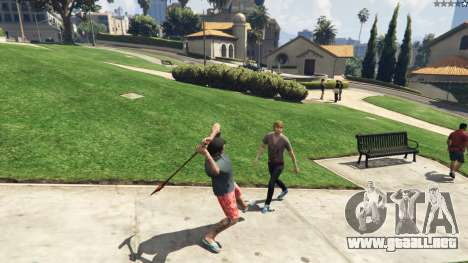 GTA 5 Weapon Variety 0.9 quinta captura de pantalla