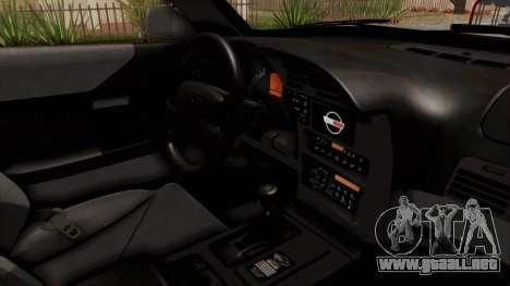 Chevrolet Corvette C4 Monster Truck para visión interna GTA San Andreas