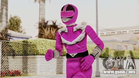 Power Rangers Time Force - Pink para GTA San Andreas