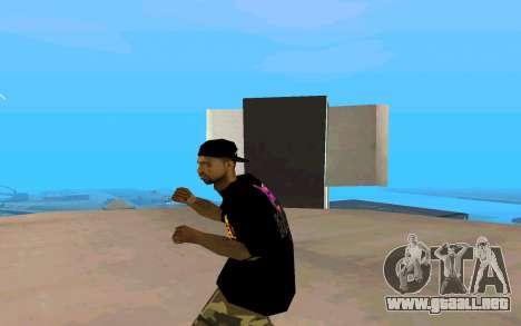 Grove Street Gang Member para GTA San Andreas tercera pantalla